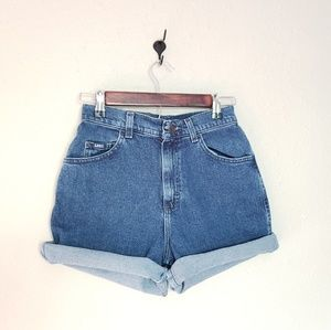 Vintage Mom Jean Shorts Size 4M